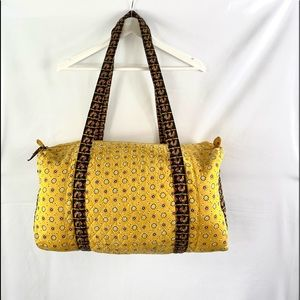 Yellow Rooster Travel Duffel Cotton